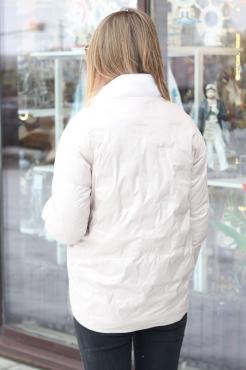 Длинная зимняя куртка lizabruce с капюшоном и мехом енота