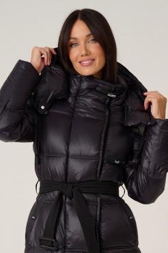 Красный пуховик iceyee зима 2019-2020