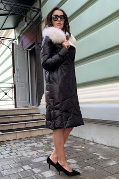 Зимняя пуховая куртка одеяло женская 2019-2020