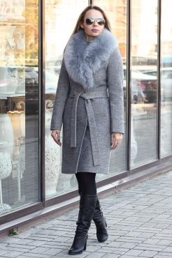 Элегантное пальто зима 2018-2018