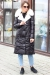 Молодежный пуховик liza bruce с капюшоном в Москве