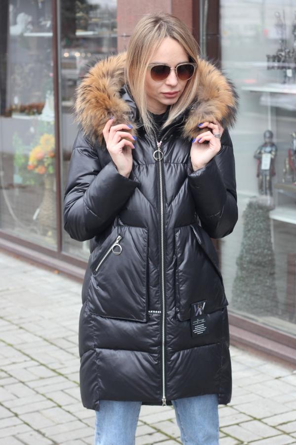 Теплая зимняя куртка-парка как у Бузовой